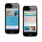 responsive website on mobile phones